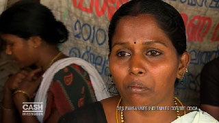 Des paysannes indiennes contre Coca grande