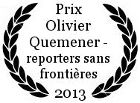 Prix Olivier Quemener - Raporters sans frontières au FIGRA